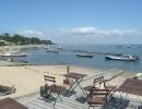 Widok na Zatokę i port ostrygowy w Le Canon [1600x1200]
