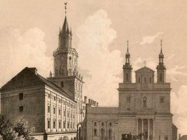 Chrzcielnica z kościoła św. Michała w archikatedrze