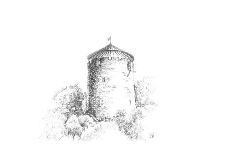 wieża 1