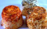 Ser nadziewany cebulkami, ser z pastą truflową