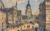 Brama Krakowska. Święty Antoni od Ordonki