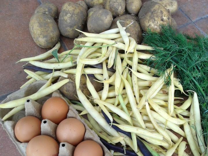 Pochwała prostoty: Ziemniak, fasolka, jajo i kefir