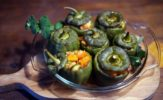 Foto przepis. Papryczki nadziewane warzywami z kuskus w wersji polsko-hiszpańskiej