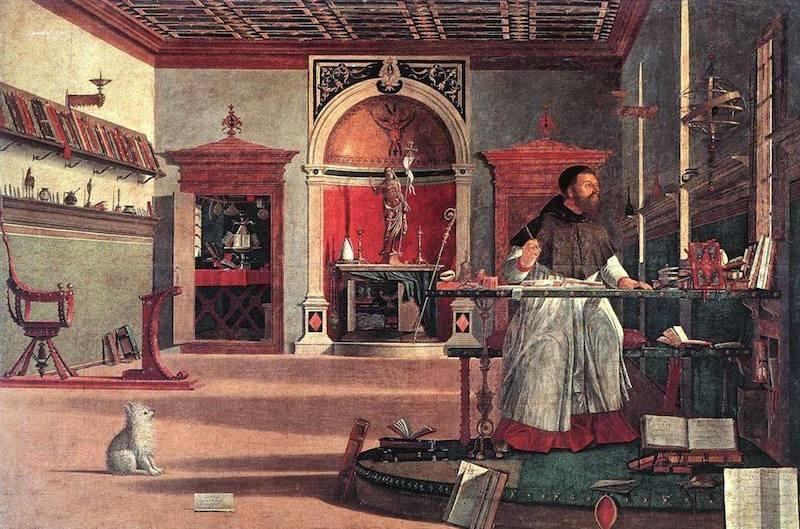 Św. Augustyn i carpaccio